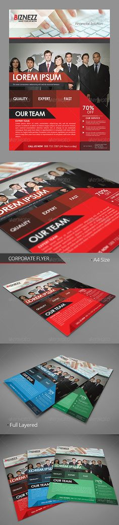 Corporate Flyer   #GraphicRiver           Corporate Flyer   PSD File   Easy To Customize  All Text Editable With Text Tool  A4  Userguide available in package download  Images not include  Image Link  Image Link :  .flickr /photos/76029035@N02/6829457845/  Image Link : photodune /item/office-woman/4107337   Font Used  Century Gothic  PT Sans Download link font available in package download  Contact Me Email – rizign@gmail  Facebook – Rizign Twitter – @Rizign Follow For Updates    Thanks…