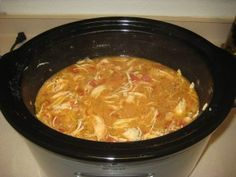 Creamy Tomato Chicken Crockpot Soup -   *4 frozen skinless boneless chicken breast  *Garlic salt to taste  *2 Tbsp Italian Seasoning  *1 Tbsp dried basil  *1 clove garlic  *1 14 oz. can of coconut milk (full fat)  *1 14 oz. can diced tomatoes and juice  *1 cup of chicken broth   *Sea Salt and pepper to taste. - Put  ingredients into the crock-pot, cook for 9 hours on low.