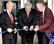 10th Anniversary Ribbon Cutting  http://bush.tamu.edu/istpp/news/story/25/istpp10-small.jpg