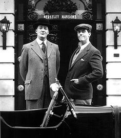 Jeeves and Wooster knew how to show off bespoke tailoring at its British best.