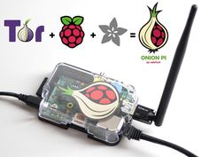Onion Pi: Browse anonymously anywhere you go with the Onion Pi Tor proxy. This is fun weekend project that uses a Raspberry Pi, a USB WiFi adapter and Ethernet cable to create a small, low-power and portable privacy Pi.