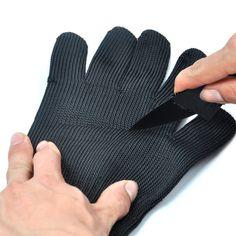 ケブラー手袋証拠を保護ステンレス鋼線安全カットスチールメタルメッシュブッチャー抗切断通気性作業手袋ボクシンググローブ