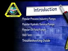 Pump Repair: Positive Displacement Pumps Training