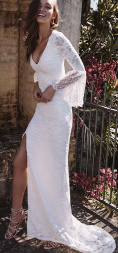 Courtesy of Grace Loves Lace wedding dresses: Photographer: Louise Smit