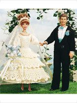 June Bride and Groom Doll