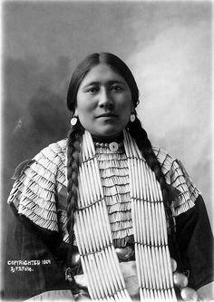 Rachel Standing Soldier  Photo taken 1904 State Archives# 1952-7768