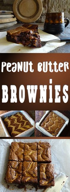 Try these delicious peanut butter brownies! #recipe #baking #cooking #fdbloggers #brownies #lowfodmap