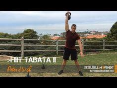 HIIT Tabata Kettlebell Workout 2 - Kettlebell Movement