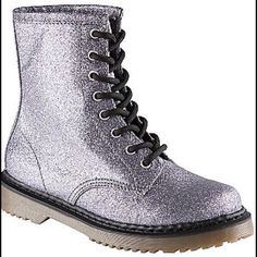 Glitter Boots Size 8