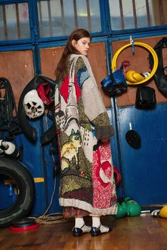 See the complete Stella Jean Pre-Fall 2017 collection.