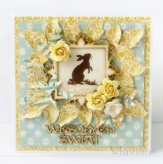 Cards Diy, Handmade Cards, Holiday Cards, Christmas Cards, Easter Projects, Shabby Chic, Scrapbooking, Decor, Crafting