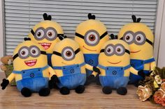 Despicable Me Minions Plush Cushion PillowPlush doll by procosplay, $18.00