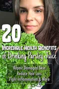 Parsley is more than just a garnish. Some of the best-known parsley juice benefits include kidney cleansing, cancer protection, and more! Smoothie Benefits, Juicing Benefits, Health Benefits, Health Articles, Health Tips, Health And Wellness, Healthy Juices, Healthy Drinks, Healthy Food