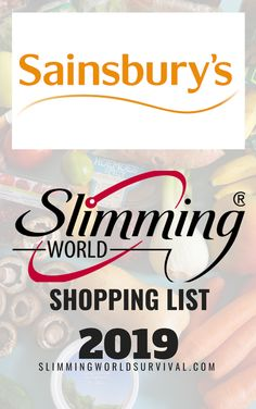 Sainsbury's Shopping List for Slimming World 2019 astuce recette minceur girl world world recipes world snacks Slimming World Shopping List, Slimming World Syns List, Slimming World Survival, Slimming Workd, Slimming World Treats, Slimming World Dinners, Slimming World Recipes Syn Free, Shopping Lists, Slimming World Plan