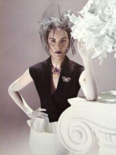 Michelle Dockery for Harper's Bazaar Singapore