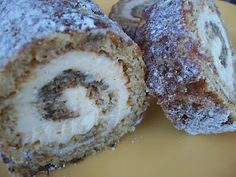 Banana roll with cinnamon cream cheese. Delic. Dare I say, better then pumpkin roll