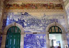 Sao Bento Station, Portugal