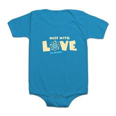 ThinkGeek :: Made With Love (and Science) Bodysuit
