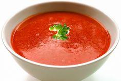 Rajčatová polévka recepty česky