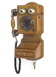 CR92-OA Crosley Country Kitchen Wall Phone