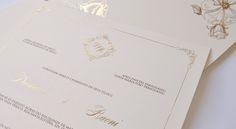 Convites de casamento clássicos – Vestida de Branco