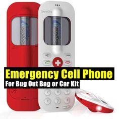 Emergency Cell Phone For Bug Out Bag or Car Kit - SHTF, Emergency Preparedness, Survival Prepping, Homesteading