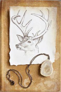 endofmarch: Oh Deer via http://designlovely.tumblr.com/