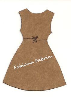 "Fabiana Fabrin: Sachê Perfumado - Modelo novo: ""Vestido"""