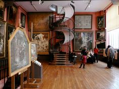Paris Hotel Boutique Journal: Musée Gustave Moreau and the Mystery Staircase