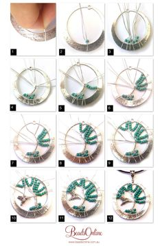 Easy way to make wire wrap tree of life tutorial diy and tutorials tree of life pendant mozeypictures Image collections