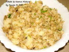 Potato & Keema Filling | Fauzias Kitchen Fun