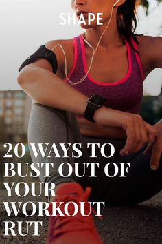 20 Ways to Bust Out of Your Workout Rut Try any (or all) of these small tweaks to snap out of a fitness funk and get better results faster. Elliptical Vs Treadmill, Elliptical Trainer, Weight Loss Photos, Weight Loss Tea, Health And Wellness, Health Fitness, Health Exercise, Fitness Inspiration, Fitness Tips