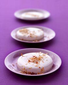 Coconut Custards - Martha Stewart Recipes
