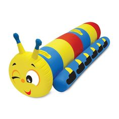 Poolmaster Floating Caterpillar Super Jumbo Rider Inflatable Swimming Pool Toy for sale online Pool Floats For Adults, Wedding Gift Registry, Baby Invitations, Pool Toys, Floating In Water, Water Toys, Buy Buy Baby, Rock Crafts, Bedding Shop