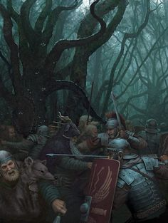 Battle of the Teutoburg Forest 9 AD