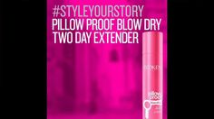 How to use Redken Pillow Proof Blow Dry Two Day Extender