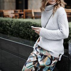 #wool #cashmere #knit #knitting #fashion #FW17 #trend #style #streetstyle #mood #marni