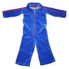 jumpsuit Fons kobaltblauw