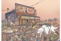 Korra by Geoff Darrow