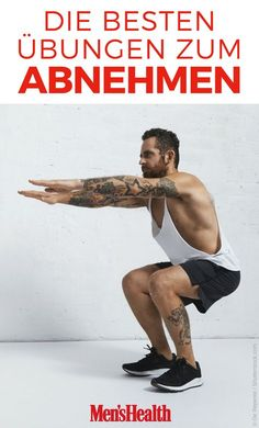 Das sind die 15 effektivsten Übungen zum Abnehmen With these 15 weight loss exercises, men can exchange their winter pounds directly for strong muscles Fitness Workouts, Tips Fitness, Gewichtsverlust Motivation, Planet Fitness Workout, Health Fitness, Fitness Sport, Workout Tips, Fitness Man, Best Weight Loss