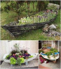 Creative ideas for re-purposing old boats