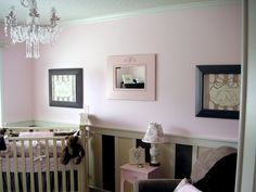 Check out our awesome pink baby room. Get more decorating ideas at http://www.CreativeBabyBedding.com
