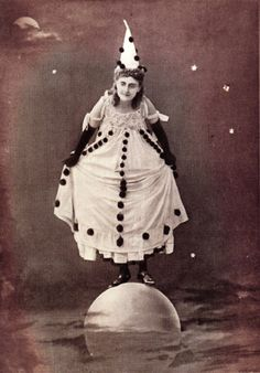 "Miss Rosie Dearing in ""The Man in the Moon"" - this would be an interesting Halloween costume"