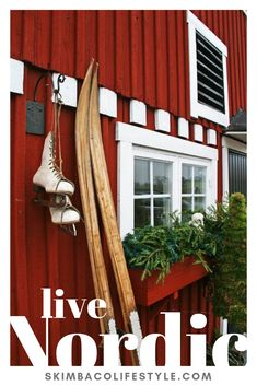 Scandinavian Christmas time – I love cross-country skiing. I hope to go again th… - Herzlich willkommen Little Christmas, Winter Christmas, Christmas Time, Christmas Colors, Norwegian Christmas, Scandinavian Christmas, Scandinavian House, Outdoor Christmas, Country Christmas