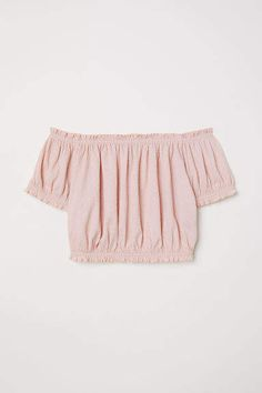 Off-the-shoulder Top - Antique rose - Ladies Tube Top Outfits, Hm Outfits, Teen Fashion Outfits, Summer Outfits Women, Outfits For Teens, Pretty Outfits, Casual Outfits, Spring Outfits, Crop Tops For Kids