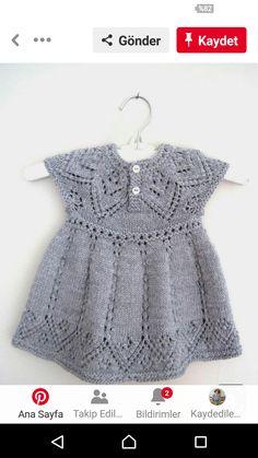 Pippa Dress knitting pattern by Suzie Sparkles, . Pippa Dress knitting pattern by Suzie Sparkles, Source Knitting For Kids, Baby Knitting Patterns, Baby Patterns, Dress Patterns, Knitting Baby Girl, Summer Knitting, Pretty Patterns, Knitting Ideas, Knitting Stitches