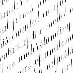Copperplate Calligraphy, Caligraphy, Hand Lettering, Behance, Letters, Writing, Alphabet Fonts, Collection, Typo