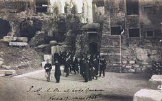Verona - V.E.III al teatro Romano - 17-03-1906