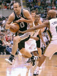 NBA: WESTERN CONFERENCE 1ST ROUND GAME 4  Spurs 87 Jazz 81 FINAL  Top Performer- M. Ginobili 17 Pts, 4 Reb, 1 Ast  SPURS WIN SERIES 4-0  keepinitrealsports.tumblr.com  keepinitrealsports.wordpress.com