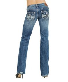 $39.99 Look what I found on #zulily! Indigo Stone Twilight Bootcut Jeans - Women #zulilyfinds